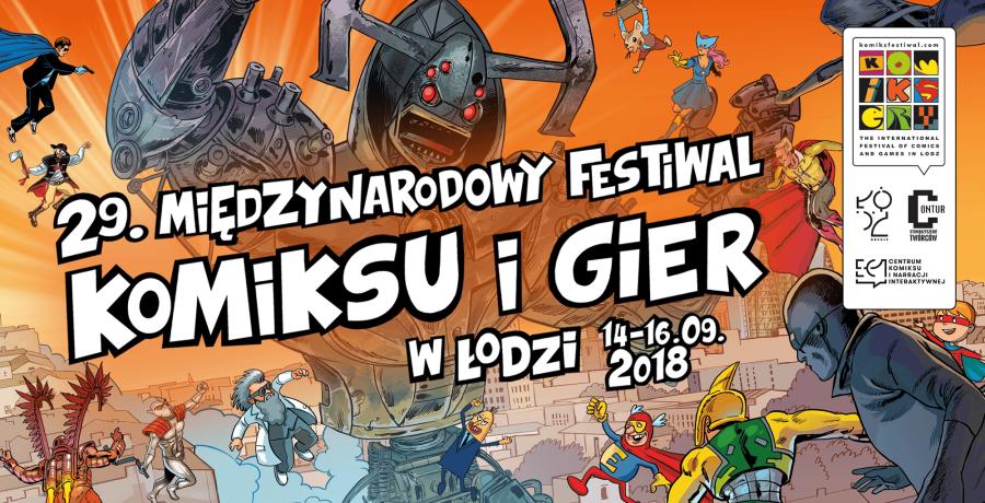 29. Międzynarodowy Festiwal Komiksu i Gier –zapowiedź