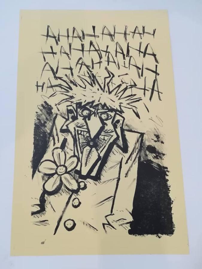 Joker – litografia